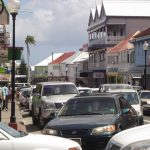 Basseterre Bay Road and T|he Circus